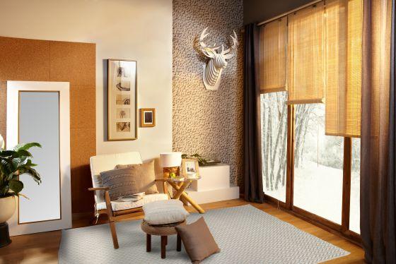 Diferentes tipos de cortinas para combatir el frío