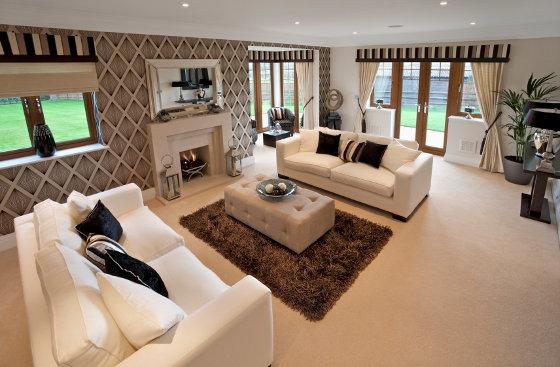 La utilizaci n de las alfombras en la decoraci n boloqui - Alfombras de sala modernas ...