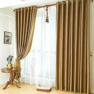 doble cortinado
