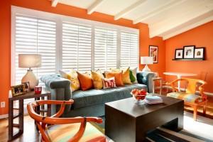 luniversdines-summery-colors-natalie-umbert-design-orange-living-room3