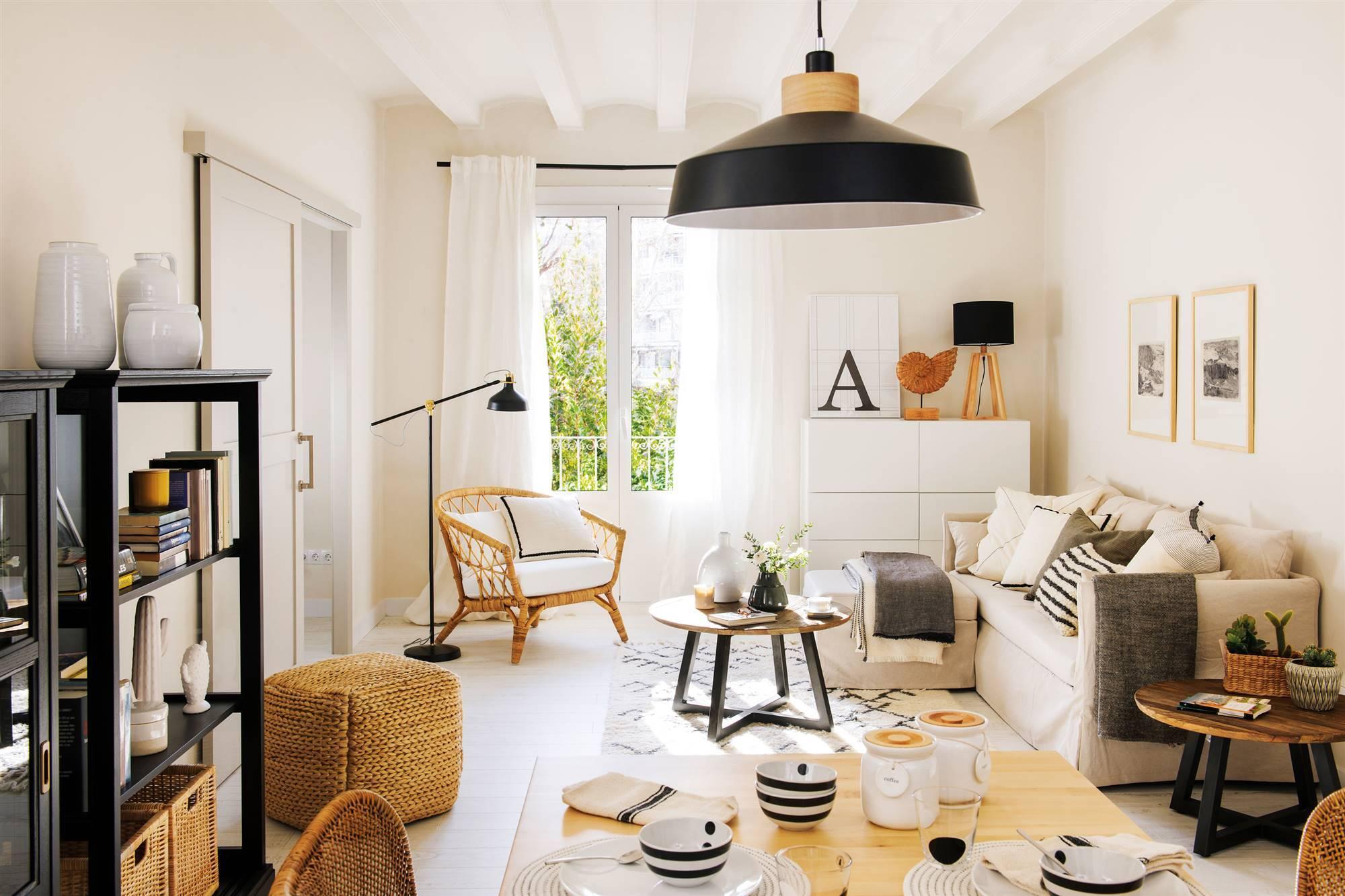 Las cortinas ideales para casas pequeñas.